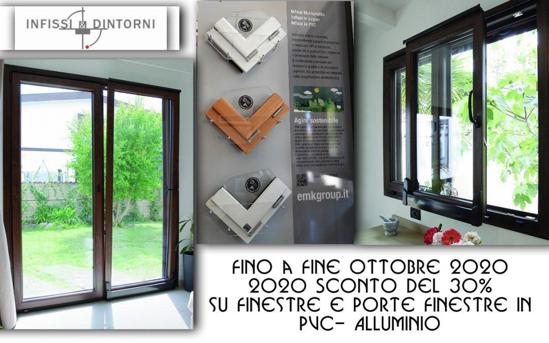 Finestre e Porte-Finestre in Pvc-Alluminio
